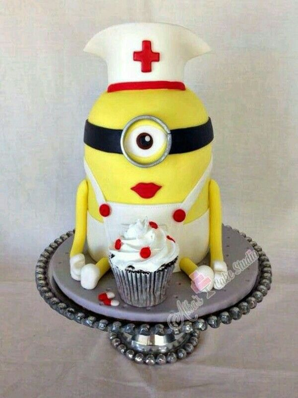 884 best Despicable Me Cakes images on Pinterest Cake minion