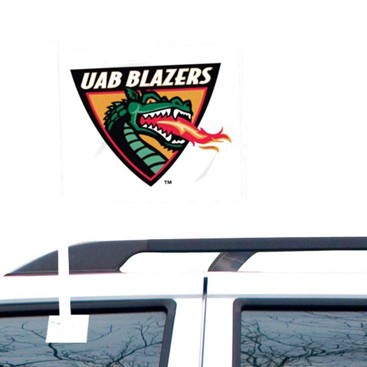 UAB Blazers Car Flag - White - $10.39