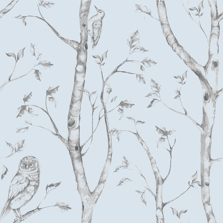 """Found it at Wayfair - Woods Peel and Stick 18' x 20.5"""" Scenic Roll Wallpaper"""
