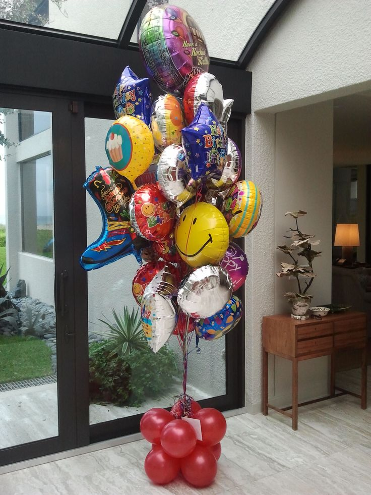 Balloon bouquet delivery in Palm Beach, balloon bouquet