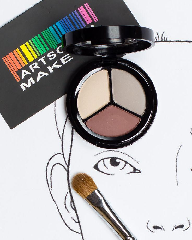 Купить кашемир трио матовые тени для век kashmir eyehadow trio matt paese по цене 140 грн в Киеве, Украине — Artsoul Makeup