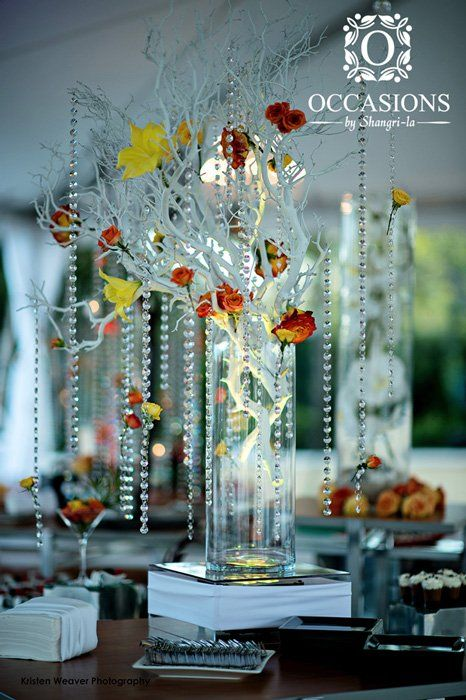 Best images about crystal centerpieces on pinterest