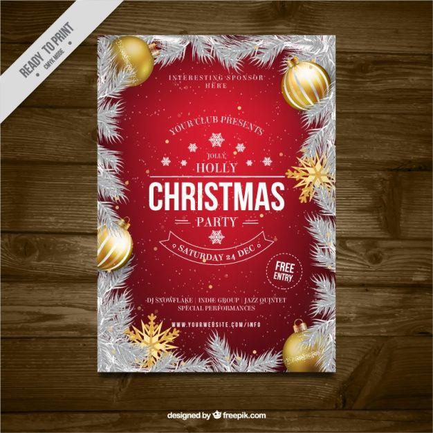 Resultado de imagen para ejemplos de afiches de navidad