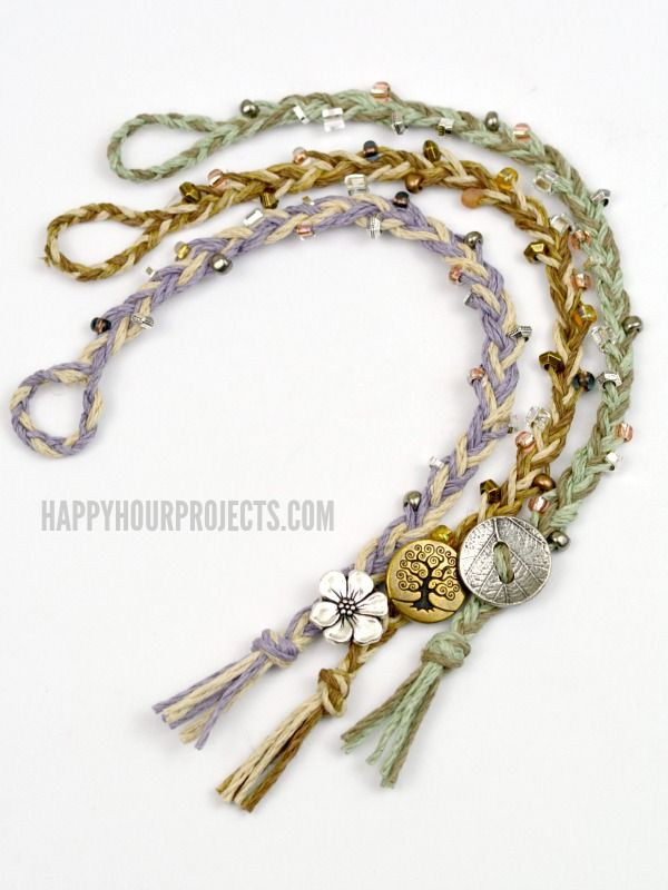 32 best How To Make Hemp Bracelets images on Pinterest Hemp