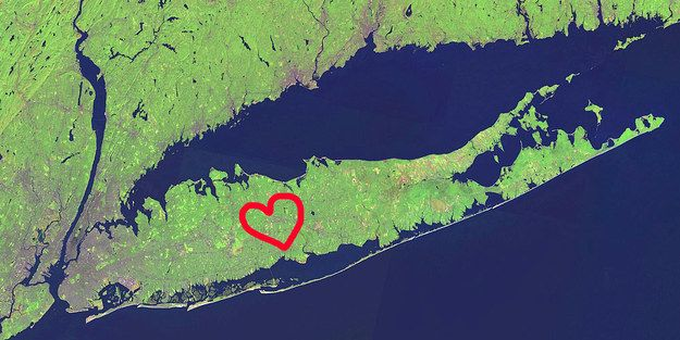But DID YOU KNOW that the very best thing about it is this lovable fish-shaped island? | 61 Reasons Long Island Is Actually The Best Thing About New York