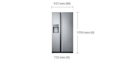 Dimension of RH56J69187F/EU