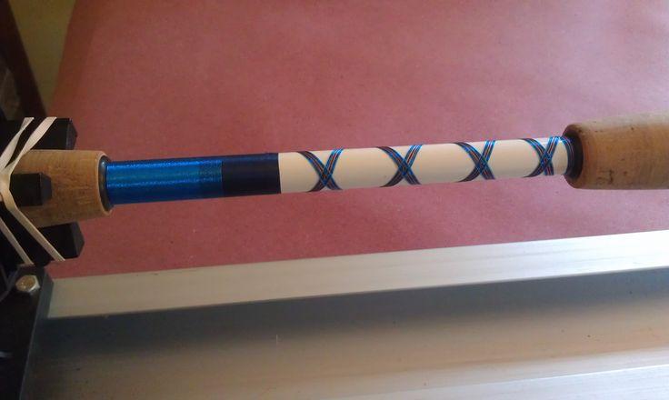 Jase custom fishing rods fishing rod building pinterest for Fishing rod wraps