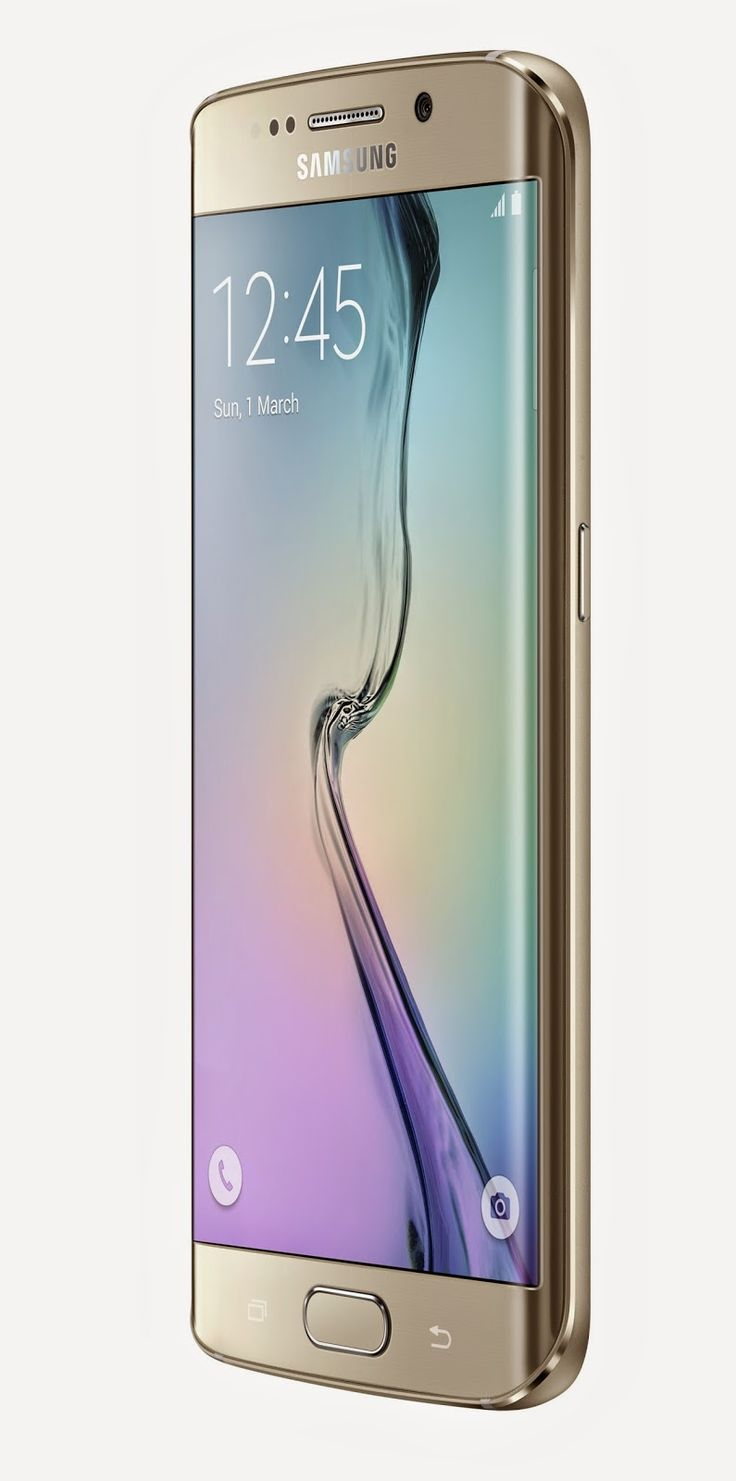 The Samsung Galaxy S6 Edge. This incredible smartphone is probably the best looking ever in my opinion. The curved display makes the whole device look very sleek.
