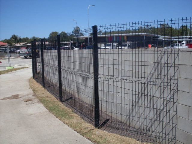 Jag Fence 2100h PVC Coated Mesh Security Fence