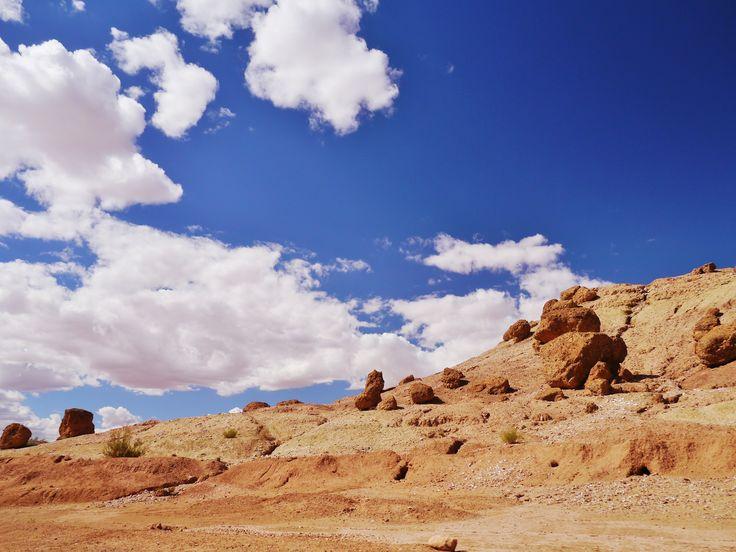 モロッコ アトラス山脈 空気が澄み、空が近く感じる