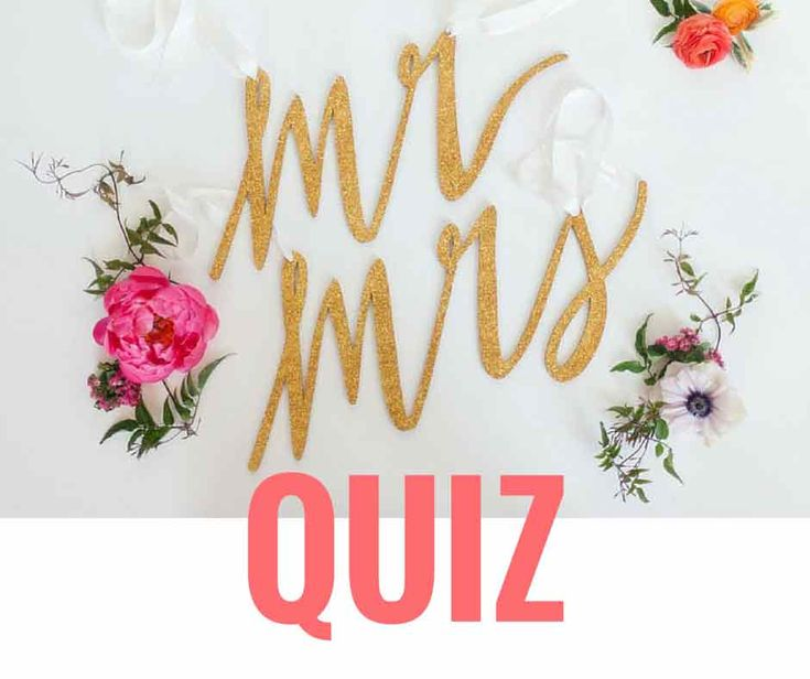 Mr & Mrs quiz