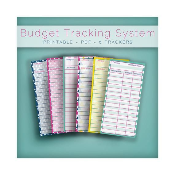 Printable Budget Tracker – Expense Tracker – Zero Based Budget