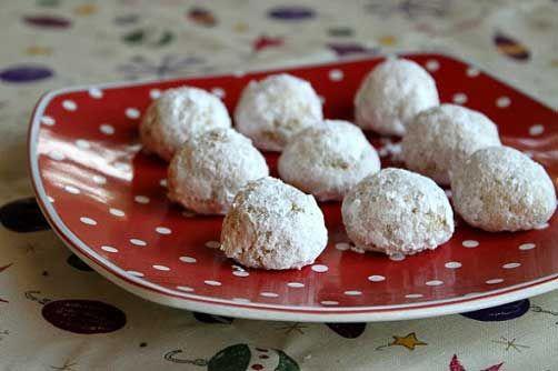 Gluten Free Orange- Almond Snowballs: almond flour, white sugar, large ...