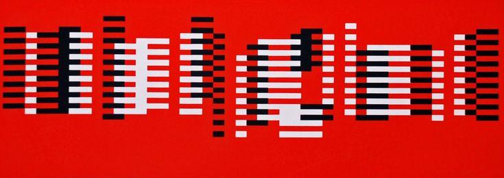 Artist: Josef Albers (1888-1976); Title: Formulation: Articulation.screenprints in colour