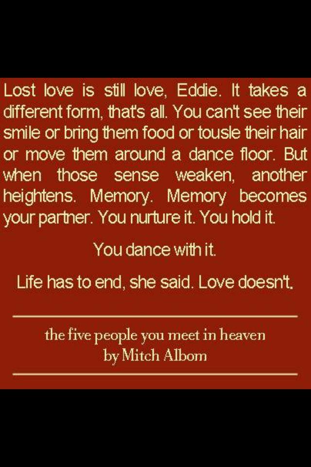 five people you meet in heaven ending