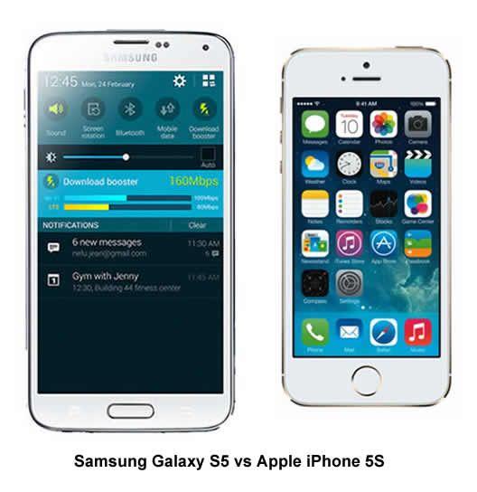 Samsung Galaxy S5 vs Apple iPhone 5S: Screen Tech Showdown  Read more: http://www.androidorigin.com/galaxy-s5-vs-iphone-5s-screen-tech-showdown/#ixzz32AS7QLBL