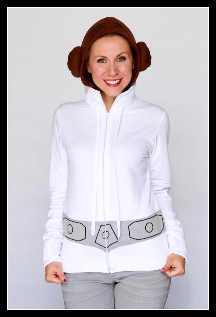 Easiest Princess Leia Costume In The Galaxy Purim Pinterest