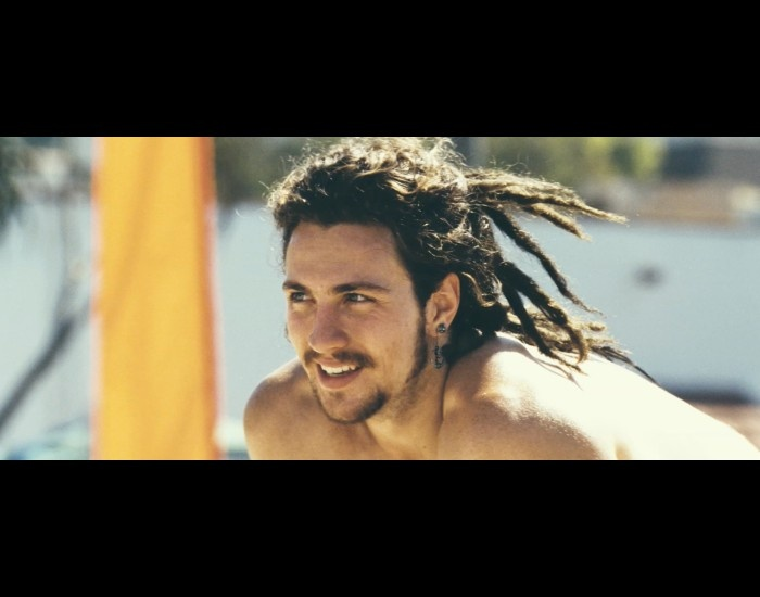 Aaron Johnson as Ben in Savages is hot with dreds!