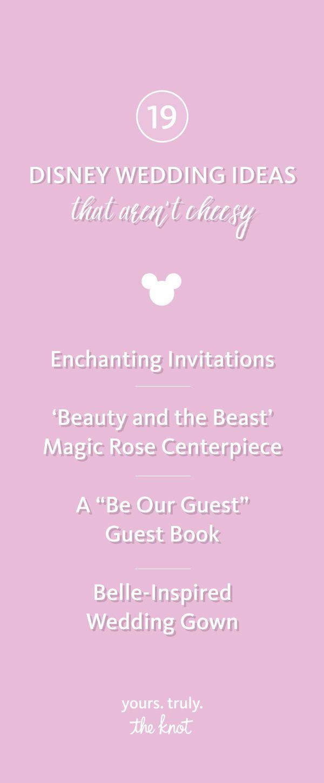 The 153 best Disney Weddings images on Pinterest   Disney themed ...