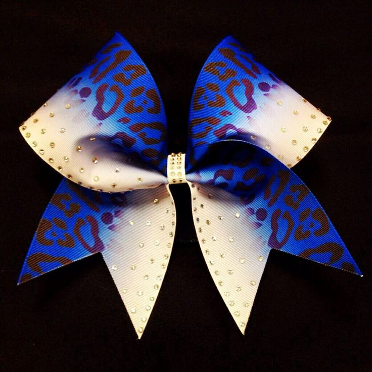 Cheer Athletics Cheetahs cheer bow