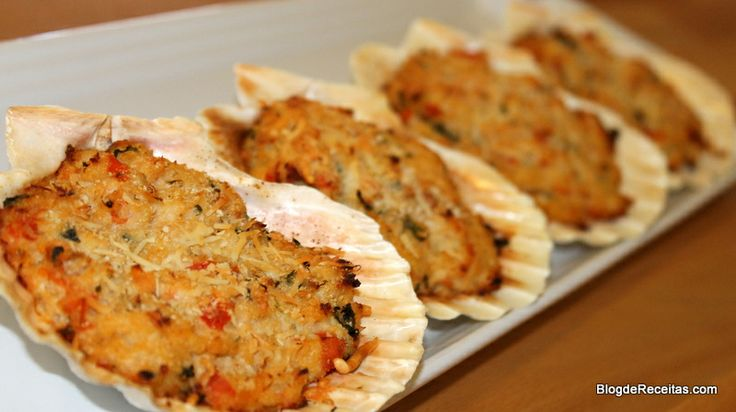 Casquinha de Siri - Stuffed Crab Shells