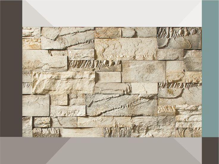 Rivestimento in pietra ricostruita CREATIVO P34 Collezione Profilo CASTELLO by GEOPIETRA®