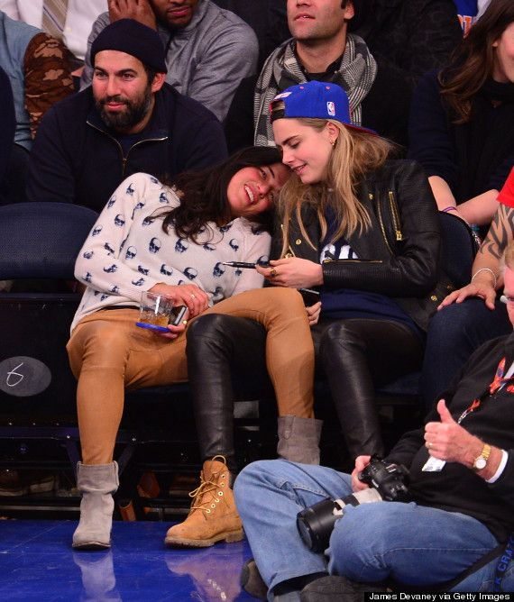 michelle rodriguez and cara delevingne; probably my new favorite couple
