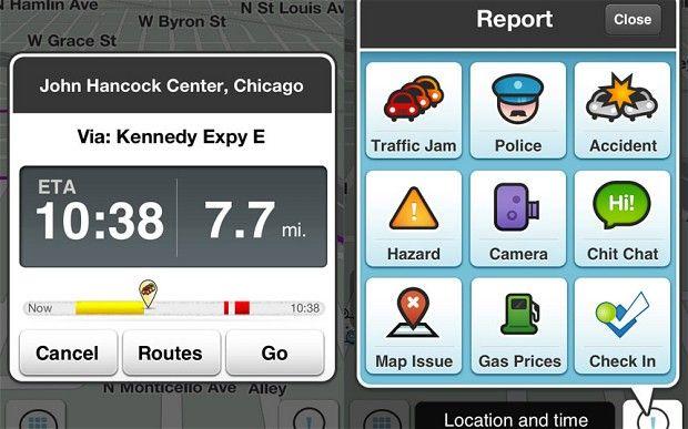Google and Facebook $1bn 'bidding war' over Waze navigation app
