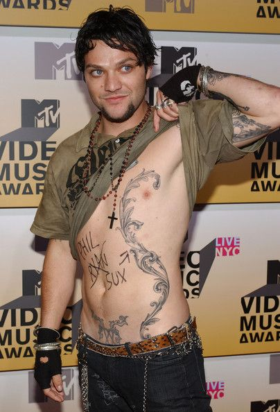 Bam Margera. I've loved him since I was twelve, and he has the most beautiful tattoos <3 #enoughsaid