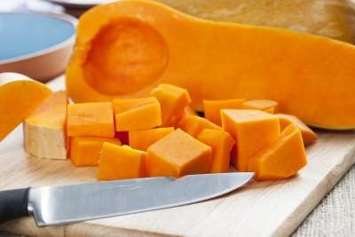 the fiber in butternut squash is beneficial to diabetic dogs