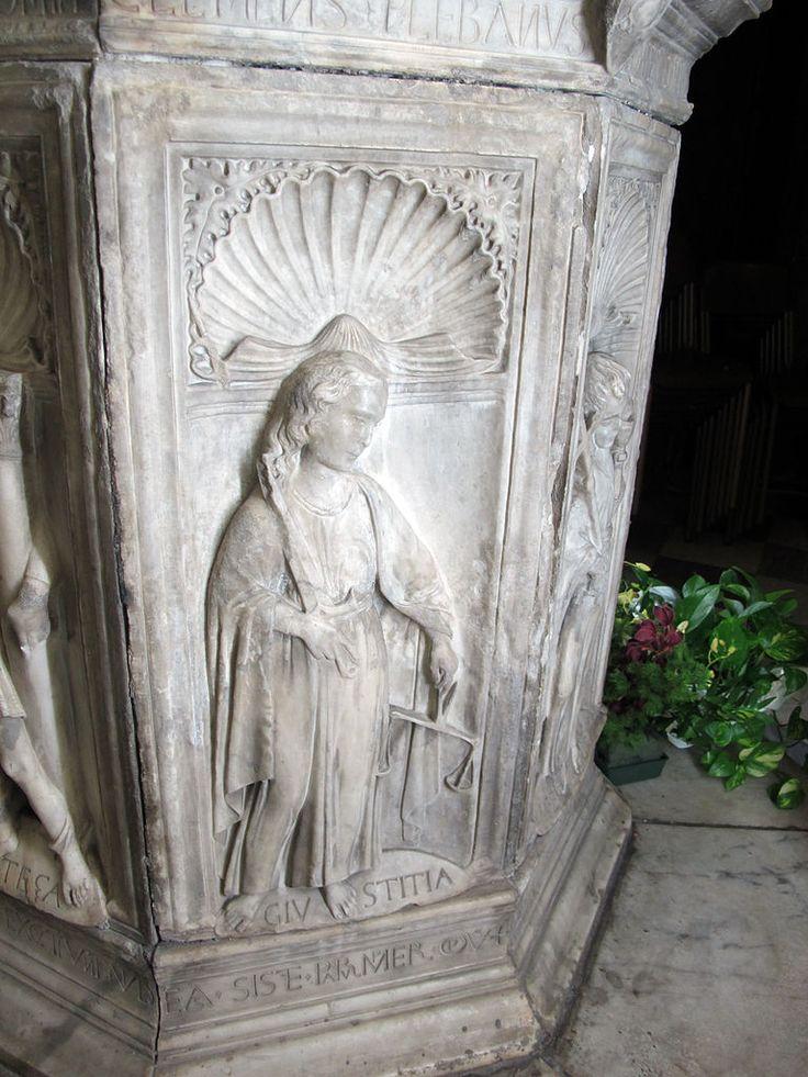 Доменико Росселли, купель Санта-Мария-а-Монте, 1468 г. San Giovanni Evangelista (Santa Maria a Monte).