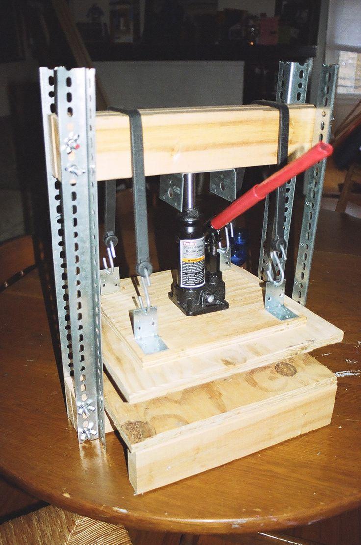 Diy Bottle Jack Press Hj 230 Lpev 230 Rk 248 J Pinterest Bottle