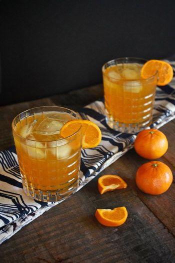 Clementine Bourbon Spritzer
