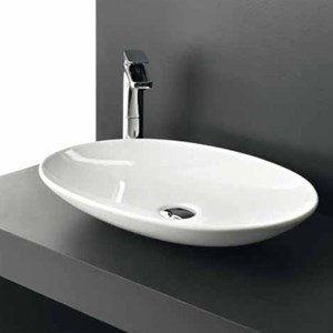 Art Ceram La Fontana 60x42 biała LFL001