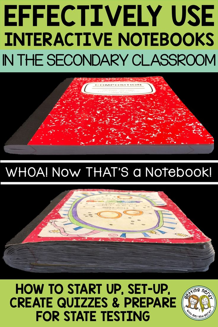Teacher-tested tips for effectively using interactive notebooks in secondary science classrooms - Getting Nerdy Science #interactivenotebooks #gettingnerdyscience
