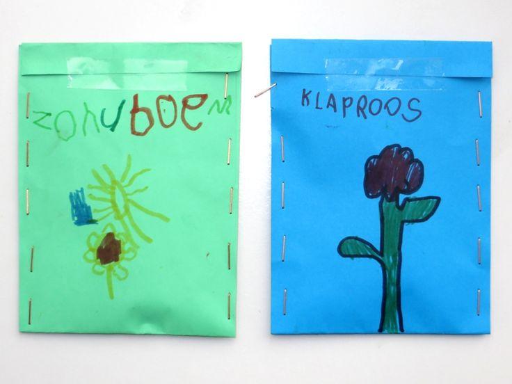 Zakjes zaad maken 1, thema tuincentrum, kleuteridee , free printable
