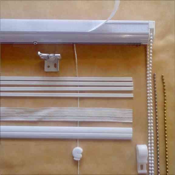 how to make a roman blind using a kit