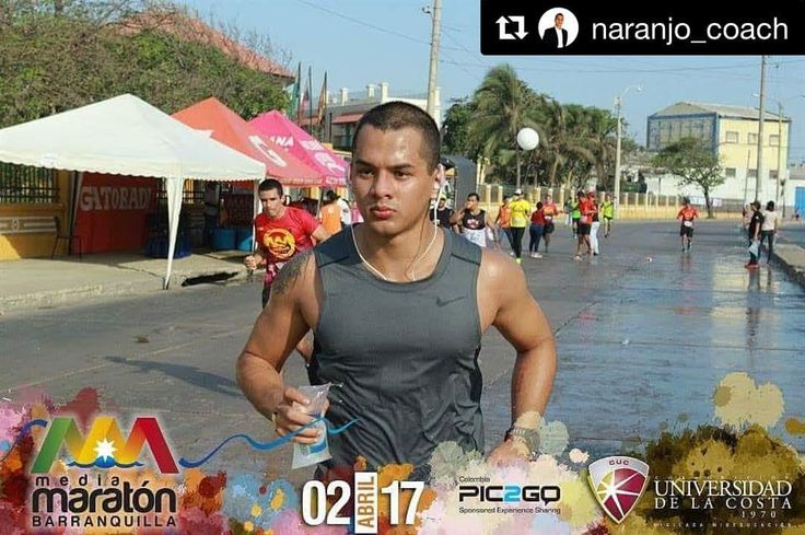Nuestro queridísimo Coach Naranjo, preparándose para el #triatlón de los próximos meses #Repost @naranjo_coach with @repostapp ・・・ Set a goal, Focus on It... New PR. #tri pre work out con @induaceites