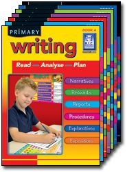 Primary Writing - BLM's.  Grades 1 - 7.