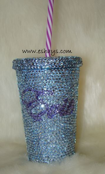 Personalized Cups, Bling Cups, Customized Cups, Custom Cups, Initial Cups, Rhinestone Cups, Minion Cup, Cartoon Cups
