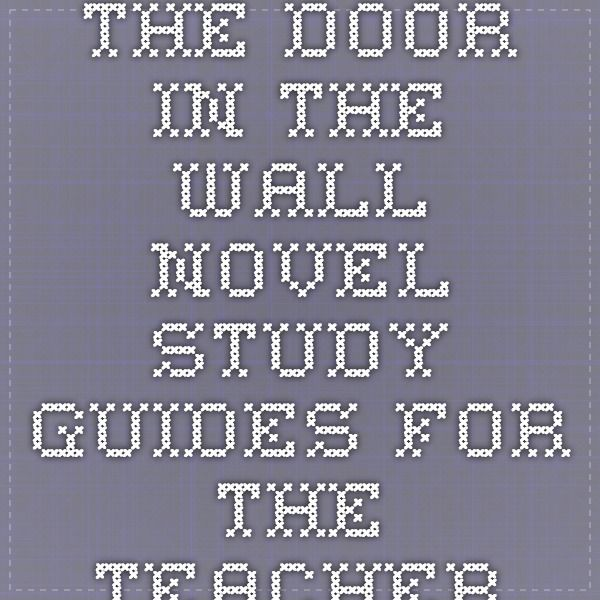 the door in the wall study guide 2