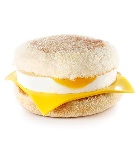 Egg and Cheese Breakfast McMuffin - Team Shuster Recipes, low calorie egg sandwich, healthy breakfast, healthy living, breakfast on the go