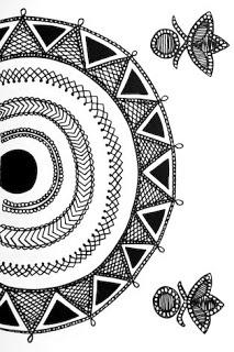 Indian Folk Designs: ~ Folk Designs from Rajasthan ~
