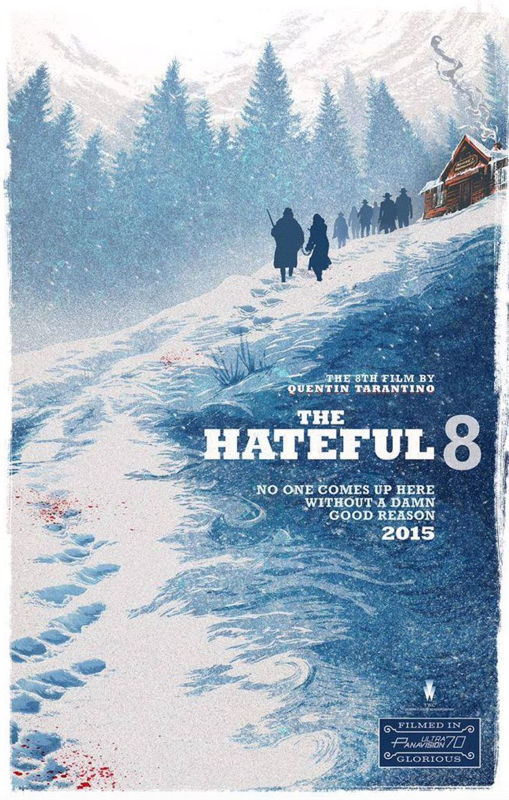 hateful eight poster comic con Hateful Eight Poster, Footage & Details Revealed At Comic Con