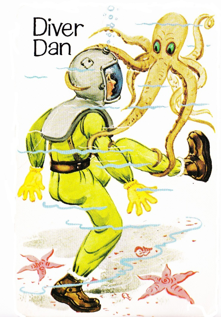 """Old Maid """"Diver Dan""""  personal collection"""