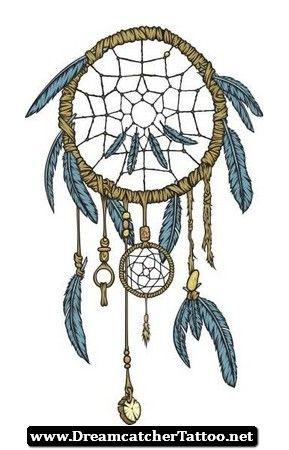 Intricate Dreamcatcher Tattoo 07 - http://dreamcatchertattoo.net/intricate-dreamcatcher-tattoo-07/