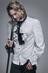 Viktorianisches weisses Hemd - White Hemlock Shirt