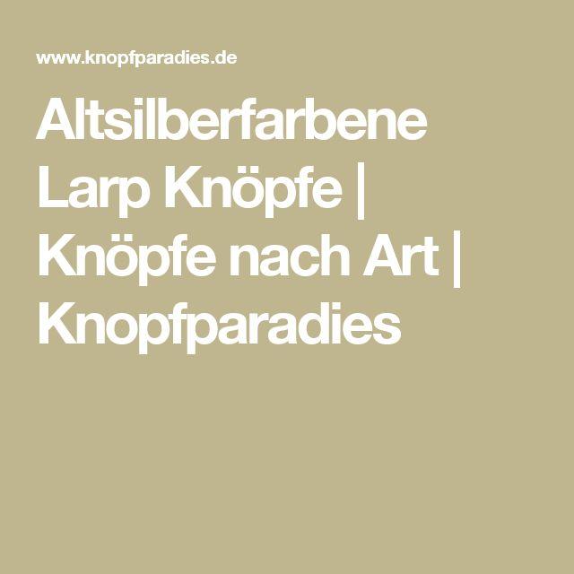 Altsilberfarbene Larp Knöpfe | Knöpfe nach Art | Knopfparadies