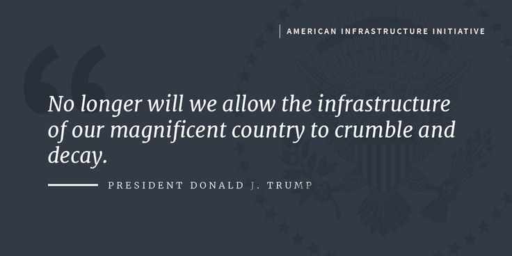 Years of inaction have allowed American infrastructure to degrade into a state of disrepair.