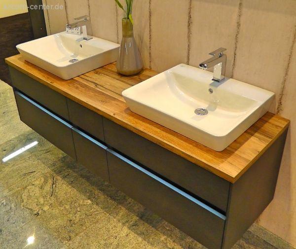 Puris Unique Badmobel 172 Cm Set A Unterschrank Fur Aufsatzwaschbecken Unterschrank Doppelwaschtisch Mit Unterschrank